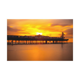 Herne Bay Pier. Canvas Print