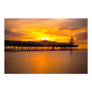 Herne Bay Pier. Photo Print