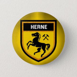 Herne Flag 6 Cm Round Badge