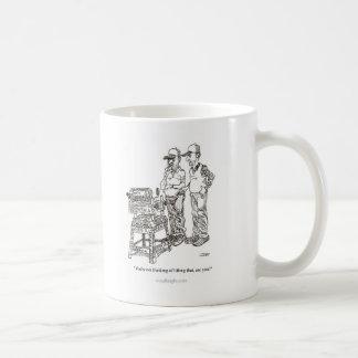 Hernia Cartoon Mug