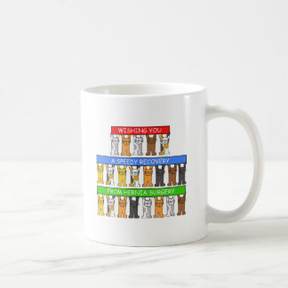 Hernia Surgery speedy recovery. Coffee Mug