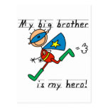Hero Big Brother Tshirts and Gifts Postcard