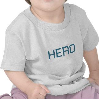 Hero (blue edition) tee shirts
