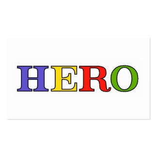 HERO Colors Business Cards