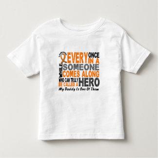 HERO COMES ALONG 1 Daddy LEUKEMIA T-Shirts