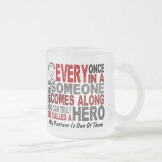 HERO COMES ALONG 1 Partner LUNG CANCER Mug