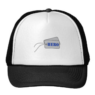 HERO DOG TAGS TRUCKER HATS