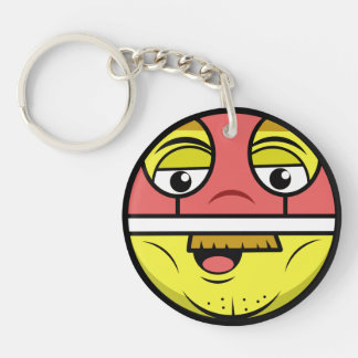 Hero Face Key Ring