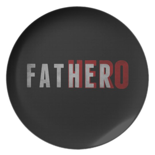 Hero Father Plate