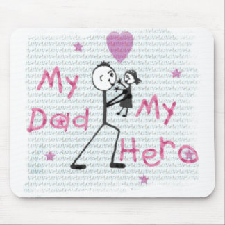 Hero Father's Day or Other Dad Mouse Pad