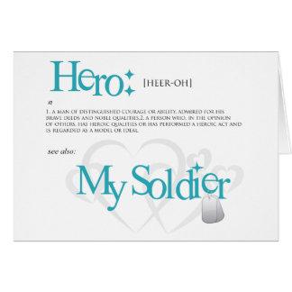 Hero: My Soldier Card