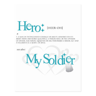 Hero: My Soldier Post Cards