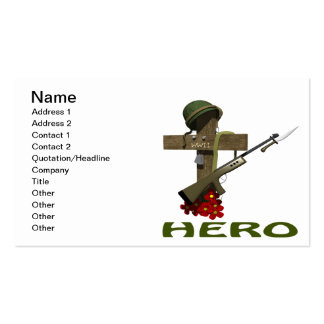 Hero Pack Of Standard Business Cards