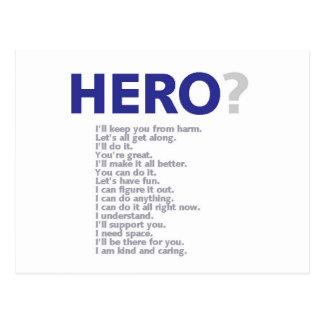 Hero? Post Card