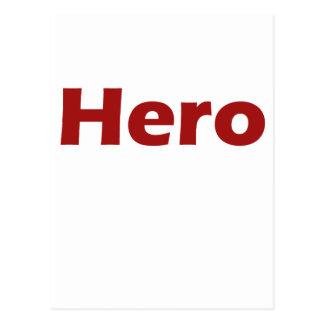 Hero Postcard