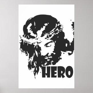 Christian Poster: Hero