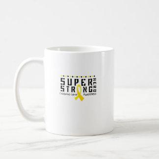 Hero Strong Childhood Cancer Awareness support Coffee Mug
