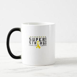 Hero Strong Childhood Cancer Awareness support Magic Mug