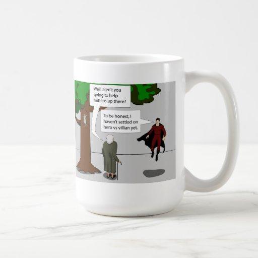 Hero vs Villian Coffee Mugs