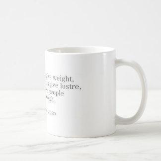 Herodotus on Knowledge vs. Accomplishments Basic White Mug