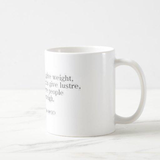 Herodotus on Knowledge vs. Accomplishments Mug
