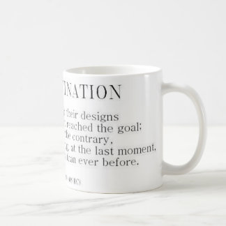 Herodotus on Procrastination Classic White Coffee Mug