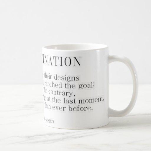 Herodotus on Procrastination Coffee Mugs