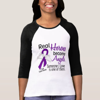Heroes Become Angels Cystic Fibrosis T-Shirt