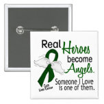 Heroes Become Angels Liver Cancer 15 Cm Square Badge