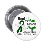 Heroes Become Angels Liver Disease 6 Cm Round Badge