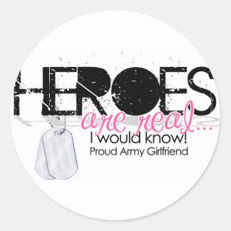 Heroes Classic Round Sticker