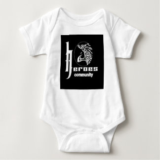 Heroes community baby bodysuit