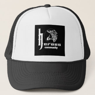 Heroes community trucker hat