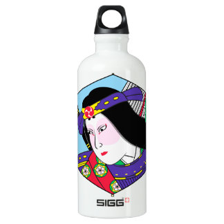 Heroes of the Ages: Tomoe Gozen Liberty Bottle SIGG Traveller 0.6L Water Bottle