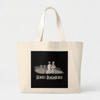 Heroes Remembered Jumbo Tote Bag