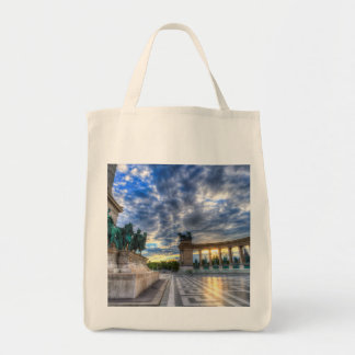 Heroes Square Budapest Hungary Tote Bag