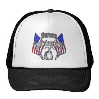 Heroes wear dog tags 2 hat