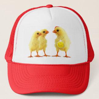 Heroic cockerel trucker hat