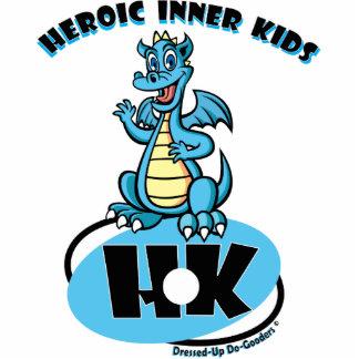 Heroic Inner Kids Photo Sculpture Decoration