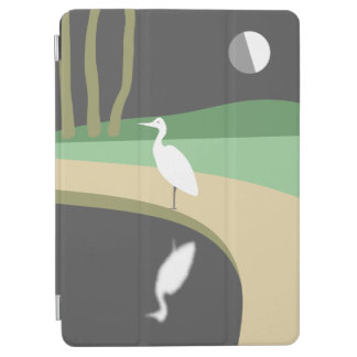 Heron By Moonlight iPad Air Cover
