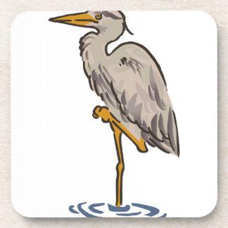 Heron Drink Coasters
