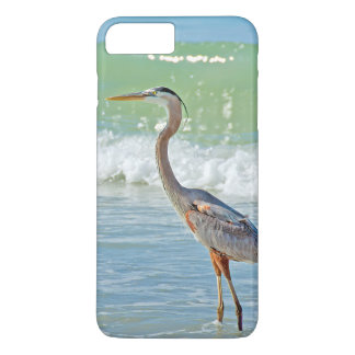 heron in ocean surf iPhone 8 plus/7 plus case