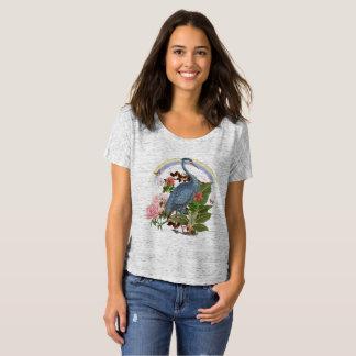 Heron Spirit Animal Slouchy T-Shirt
