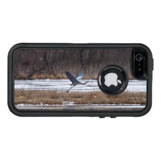 Heron Take Off OtterBox Defender iPhone Case