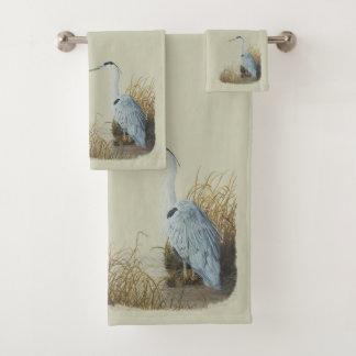 Heron Towel Set