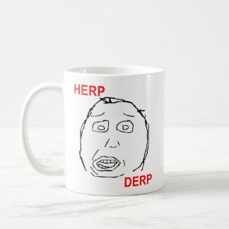 Herp Derp Herp Derping Basic White Mug