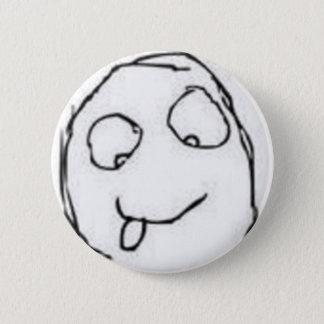 Herp Derp Rage Comic 6 Cm Round Badge