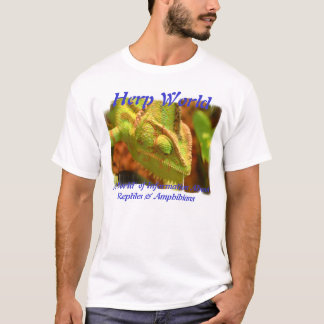 Herp World Chameleon T-Shirt