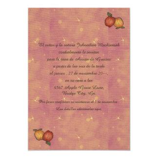 Herradura de Acción de Hacia Abajo 13 Cm X 18 Cm Invitation Card