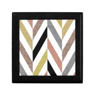 Herringbone Pattern Gift Box